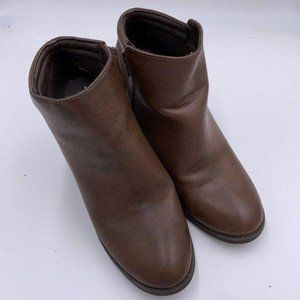 Mia Faux Leather Booties